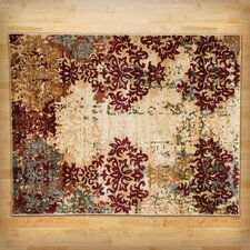 Grace Ivory/Red Area Rug