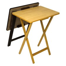 Ivana Folding TV Tray Table Set (Set of 2)