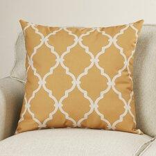 Reuter Trellis Polyester Throw Pillow