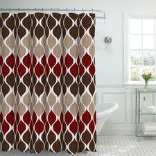 Danton Fabric Weave Textured Shower Curtain Set