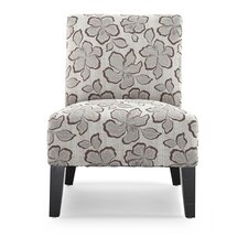 Poppy Hibiscus Slipper Chair