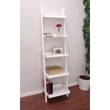 "East 67"" Leaning Bookcase"