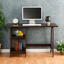 Bristol Writing Desk with 2 Shelves