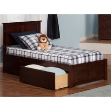 Marjorie Extra Long Twin Panel Bed with Storage