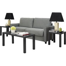Powers 3 Piece Coffee Table Set