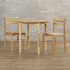 Lynbrook 3 Piece Dining Set