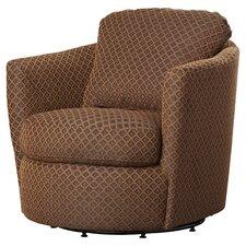 Messina Diamond Print Swivel Arm Chair
