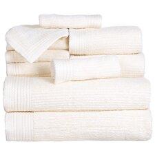 Pernelia 10 Piece Egyptian Quality Cotton Towel Set