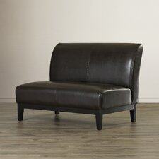 Jonas Leather Loveseat