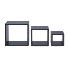 3 Piece Nesting Cube Shelf Set