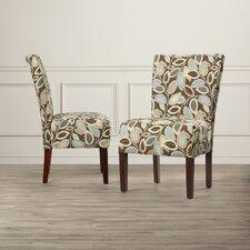 Susannah Fabric Slipper Chair (Set of 2)
