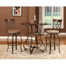 Gramann 3 Piece Pub Table Set