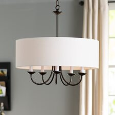 Burton 5 Light Drum Chandelier
