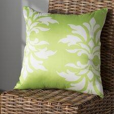 Eudora Double Damask Outdoor Throw Pillow