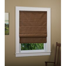 Richmond Linen Cordless Thermal Backed Roman Shade w/ Blackout Fabric