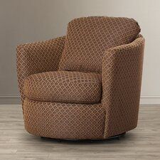 Messina Diamond Print Swivel Arm Chair