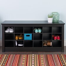 Sybil Shoe Storage Cubbie Bench