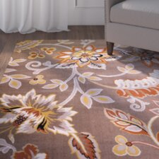 Selina Hand-Tufted Taupe/Yellow Area Rug