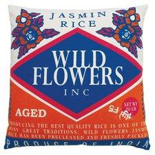 Rice Cotton Throw Pillow