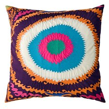Totem Cotton Throw Pillow