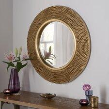 Beaded Circular Mirror
