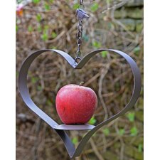 Heart Shaped Cast Iron Fruit Feeder