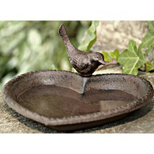 Heart Shaped Bird Bath