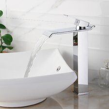 Single Handle Bathroom Waterfall Faucet