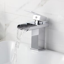 Single Handle Bathroom Sink Waterfall Faucet