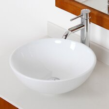 Ceramic Round Bathroom Sink