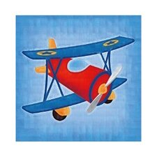 3 Piece Lets Fly Gallery Wrapped Canvas Art Set