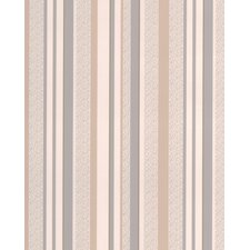 "Renaissance Isobel 33' x 20"" Stripes Wallpaper"