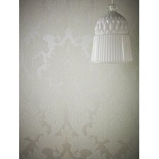 "Majestic 33' x 20"" Damask Wallpaper"