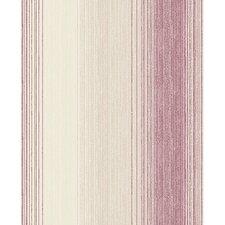 """Chambray 33'x 20"""" Stripes Wallpaper"""