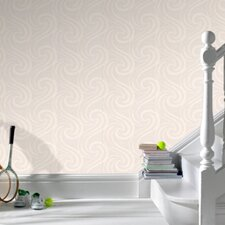 """Paintable 33' x 20.5"""" Abstract 3D Embossed Wallpaper"""