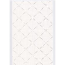 "Odyssey  33' x 20.5"" Geometric Foiled Wallpaper"
