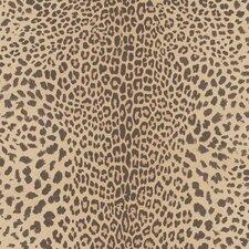 "Skins 33' x 20"" Leopard Print 3D Embossed Wallpaper"