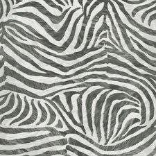 "Skins 33' x 20"" Zebra Print 3D Embossed Wallpaper"