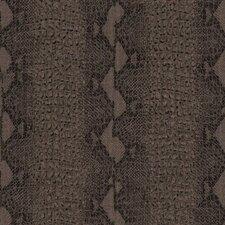 "Skins 33' x 20"" Snake Print 3D Embossed Wallpaper"