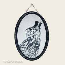 Oswald Owl Graphic Art on Wrapped Canvas