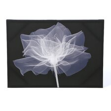 X-Ray Flower Graphic Art on Canvas