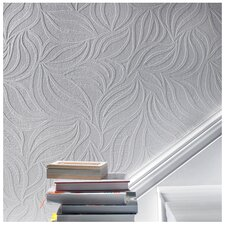 "Eden 33' x 20.5"" Abstract 3D Embossed Wallpaper"