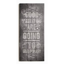 Summer 2015 Good Things Textual Art Plaque