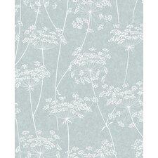 "Innocence Aura 33' x 20"" Floral and Botanical Wallpaper"