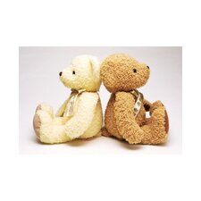 Graham and Brown Teddies Duo Photographic Print on Canvas