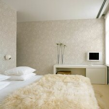 "Hermitage 33' x 20.5"" Embossed Wallpaper"