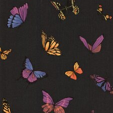 "Fabulous 33' x 20"" Flutter Butterflies 3D Embossed Wallpaper"