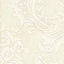 """Legacy 33' x 20.5"""" Floral and Botanical 3D Embossed Wallpaper"""