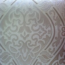 "Hermitage 33' x 20.5"" Damask Wallpaper"