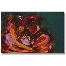Peony Painting Print on Canvas